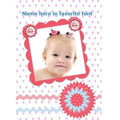 My Little Cutie Birthday Or Every Day Card By Danielle Christiansen   Greeting Card 5  X 7    Eabyquttnsfv   Www Artscow Com Front Cover