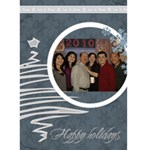 Elegant Pine Personalized Photo Christmas Card - Greeting Card 5  x 7