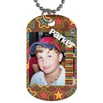 Parker Dog tag - Dog Tag (Two Sides)