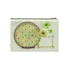 Cosmetics Bag Medium Best Of Friends By Angel   Cosmetic Bag (medium)   Xme2e2iw3rbg   Www Artscow Com Back