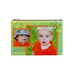 Med 09/10  By Jean Lucas   Cosmetic Bag (medium)   B22fm88ntcqd   Www Artscow Com Front