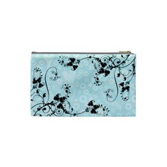 Bridal Cosmetic Bag Blue By Catvinnat   Cosmetic Bag (small)   75db3hdenxis   Www Artscow Com Back