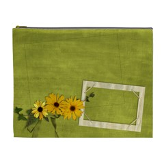 Daisies By Mikki   Cosmetic Bag (xl)   O05lp0mvkcjl   Www Artscow Com Front