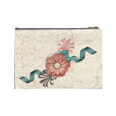 Floral By Mikki   Cosmetic Bag (large)   9byrodz97gqv   Www Artscow Com Back