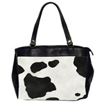 Cowboy Tote w/ photos - Oversize Office Handbag (2 Sides)
