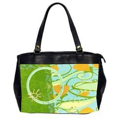 Butterfly, Sunshine By Mikki   Oversize Office Handbag (2 Sides)   Pi47avrqdvlp   Www Artscow Com Front