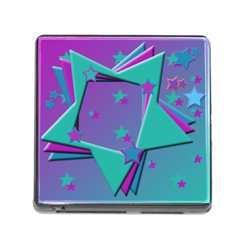 Stars2 By Add In Goodness And Kindness   Memory Card Reader (square)   3jutpn2234wn   Www Artscow Com Front