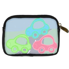 Cars By Add In Goodness And Kindness   Digital Camera Leather Case   7yi9hbeebx3q   Www Artscow Com Back