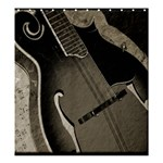 guitar shower curtian - Shower Curtain 66  x 72  (Large)