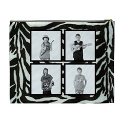 Classic Zebra Cosmetic Case By Catvinnat   Cosmetic Bag (xl)   1v36ekwgzjx1   Www Artscow Com Back