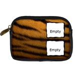 Tiger skin - Camera leather case - Digital Camera Leather Case