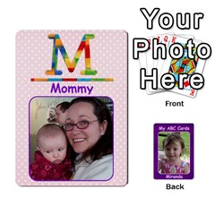 Abc Family Cards For Miranda By Debra Macv   Playing Cards 54 Designs   V3gzkope2prz   Www Artscow Com Front - Diamond2