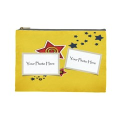 Stars  Case  Large  Template By Jennyl   Cosmetic Bag (large)   Restrs4ixv05   Www Artscow Com Front
