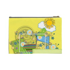 Cosmetics Bag Large By Angel   Cosmetic Bag (large)   Km1gov1p8gis   Www Artscow Com Back