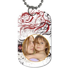 Pattern  Tag By Wood Johnson   Dog Tag (two Sides)   53693f3xfdyg   Www Artscow Com Front
