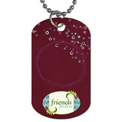 Friends Dog Tag By Mikki   Dog Tag (two Sides)   Vctcvvsi095q   Www Artscow Com Back
