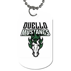 Duello Dog Tag By Mindy Vick   Dog Tag (two Sides)   0mialimylcr7   Www Artscow Com Front
