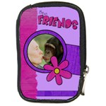 Best friends - Camera Leather Case   - Compact Camera Leather Case