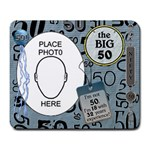 50th Birthday Mousepad - Large Mousepad