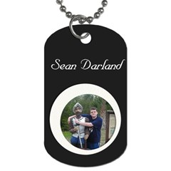 Sean Tag By Dominique   Dog Tag (two Sides)   Ifkk72xocp5z   Www Artscow Com Front