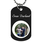 Sean tag - Dog Tag (Two Sides)