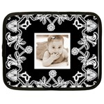 Art Nouveau Black & White 13 inch netbook case - Netbook Case (XL)