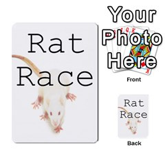 Rat Race 8 1  Part 2 By Jeroen Geenen   Playing Cards 54 Designs   R30xikyknkzi   Www Artscow Com Back