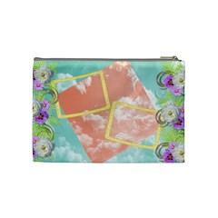 Cosmetic Bag 2 By Snackpackgu   Cosmetic Bag (medium)   9rhsclii7pcj   Www Artscow Com Back