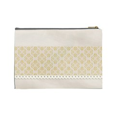 Elegant Cosmetic Case Large   Template By Jennyl   Cosmetic Bag (large)   Id2hj797mq9x   Www Artscow Com Back