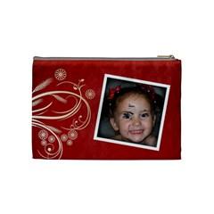 Medium Makeup Bag By Amanda Bunn   Cosmetic Bag (medium)   855lzdpofs4x   Www Artscow Com Back