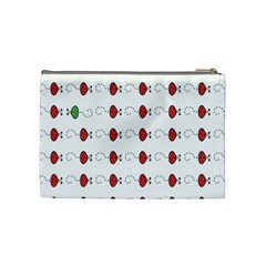 Ladybag Love   Cosmetic Bag (medium)   By Carmensita   Cosmetic Bag (medium)   Mfl0lljd3li3   Www Artscow Com Back