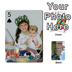 Family Cards By Smd   Playing Cards 54 Designs   Ojhgj3e5xsj7   Www Artscow Com Front - Spade5
