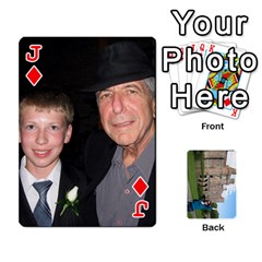 Jack Family Cards By Smd   Playing Cards 54 Designs   Ojhgj3e5xsj7   Www Artscow Com Front - DiamondJ