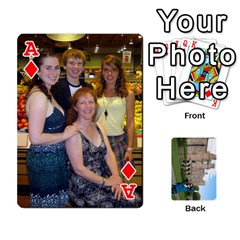 Ace Family Cards By Smd   Playing Cards 54 Designs   Ojhgj3e5xsj7   Www Artscow Com Front - DiamondA