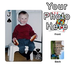 Jack Family Cards By Smd   Playing Cards 54 Designs   Ojhgj3e5xsj7   Www Artscow Com Front - SpadeJ