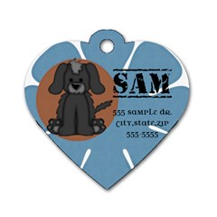 Dog Tag Sample By Brookieadkins Yahoo Com   Dog Tag Heart (two Sides)   4s0qp1xyvznl   Www Artscow Com Front
