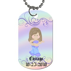 Brigette Bday Tag By Dominique   Dog Tag (two Sides)   Up3q7vsm97i2   Www Artscow Com Back