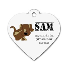 Dog Tag Sample #2 By Brookieadkins Yahoo Com   Dog Tag Heart (two Sides)   G8lxighi4f2c   Www Artscow Com Front