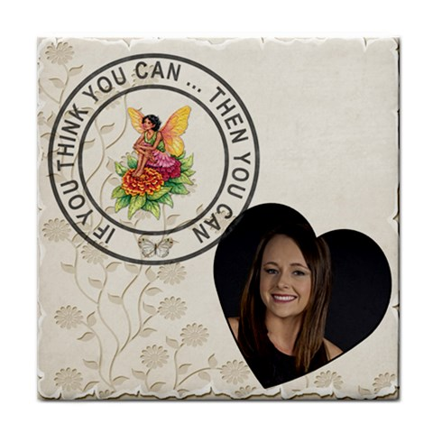 Think You Can Coaster By Lil    Tile Coaster   Lqn3o0qfut52   Www Artscow Com Front