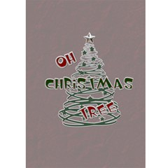 white Christmas  Card By Lil    Greeting Card 5  X 7    Hio701es2pwf   Www Artscow Com Front Inside