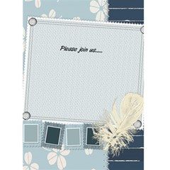 Patty Invites By Bridget   Greeting Card 5  X 7    Cw66fadey5za   Www Artscow Com Back Inside