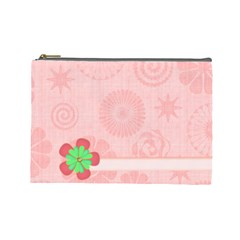 Cosmetics Bag Large By Angel   Cosmetic Bag (large)   5yx1361qxu5a   Www Artscow Com Front
