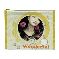 Wonderful Bag By Joely   Cosmetic Bag (xl)   97htnyp7sgzk   Www Artscow Com Front