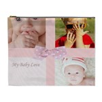 my baby love - Cosmetic Bag (XL)