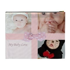 My Baby Love By Joely   Cosmetic Bag (xl)   9leuqd8d4uva   Www Artscow Com Back