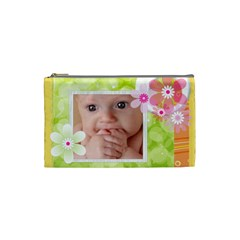 Flower Baby By Joely   Cosmetic Bag (small)   3tqt1rs69cd9   Www Artscow Com Front
