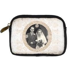 Art Nouveau Antique Lace Digital Camera Case By Catvinnat   Digital Camera Leather Case   Ywtzik1c0fec   Www Artscow Com Front