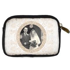 Art Nouveau Antique Lace Digital Camera Case By Catvinnat   Digital Camera Leather Case   Ywtzik1c0fec   Www Artscow Com Back