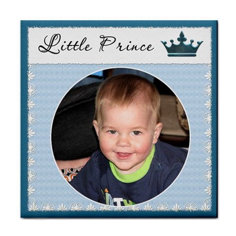little Prince  Boy Coaster By Lil    Tile Coaster   1yqyuk05zlmn   Www Artscow Com Front