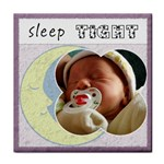 Sleep Tight  Girl Coaster - Tile Coaster